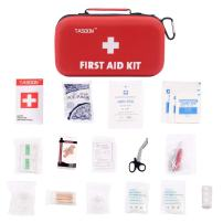 TASOON First Aid Kit 143 Piece Home First Aid Kit Supplies for Car,Home,Travel,Office or Sports, SA003