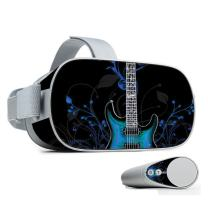 MightySkins Skin Compatible with Oculus Go Mobile VR - Guitar | Protective, Durable, and Unique Vinyl Decal wrap Cover | Easy to Apply, Remove, and Change Styles | Made in The USA