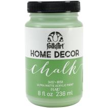 FolkArt 34157 Home Decor Chalk Furniture & Craft Paint in Assorted Colors, 8 ounce, Irish