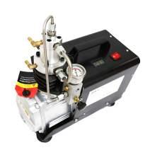 HPDAVV Protable Air Compressor 4500Psi - 1.5KW - 110V/60Hz - Manual Stop for Paintball Scuba Tank Filling Pump