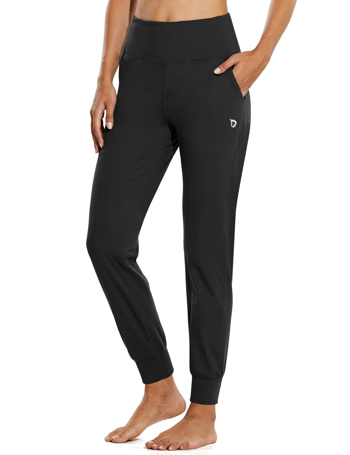 BALEAF Women's Workout Joggers Buttery Soft Athletic Running Sweat Pants Pockets Lounge Yoga Active