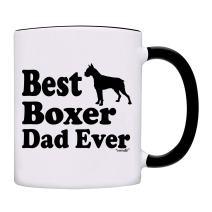 Mug Best Boxer Dad Ever Gift Coffee Mug-0083-Black