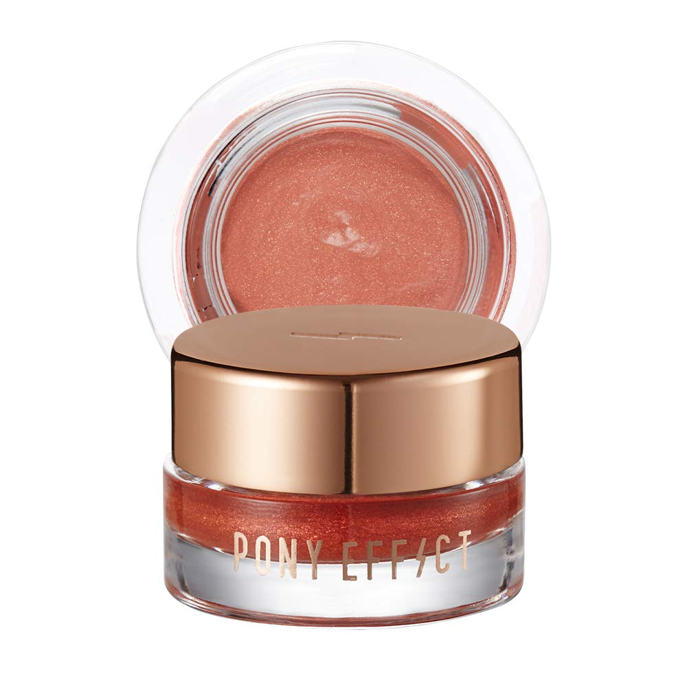 PONY EFFECT Unlimited Cream Shadow | #Beloved | Smooth And Glittery Cream Eyeshadow| K-beauty