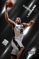 "Trends International San Antonio Spurs Kawhi Leonard Wall Poster 22.375"" x 34"""