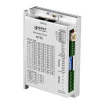 RTELLIGENT RS485 Modbus/RTU Protocol Stepper Driver 2 Phase 5A 24-50V Digital Control Nema 23/24 for 3C Equipment/CNC Machine