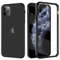TiMOVO Compatible with iPhone 11 Pro Max Case, Slim PC Hard Panel TPU Bumper Shockproof Anti-Scratch Cover Fit iPhone 11Pro Max 6.5 inch 2019 - Black