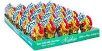 Madelaine Highly Detailed One Ounce Premium Milk Chocolate Turkey - Three-dimensional - Semi-solid (20 Pack)