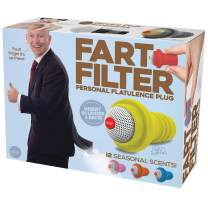 "Prank Pack ""Fart Filter"" - Wrap Your Real Gift in a Prank Funny Gag Joke Gift Box - by Prank-O - The Original Prank Gift Box 