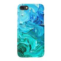 """uCOLOR Watercolor Blue Turquoise Case for iPhone 6s 6 iPhone 7/8 Cute Case Soft TPU Protective Case for iPhone 6S/6/7/8 (4.7"""") …"""