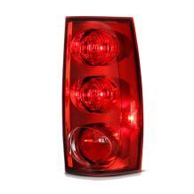 VIPMOTOZ For 2007-2014 GMC Yukon XL 1500 2500 Tail Light - [Factory Style] - Rosso Red Housing, Passenger Side