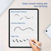 PERFECTSIGHT Paper-Like Screen Protector for iPad Pro 12.9 2020 2018 Model, Matte PET Film for Drawing High Touch Sensitivity Anti Glare Scratch Resistant Paper Texture