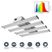 CDMALL LED New Tech Grow Light 240W (1200W Equivalent) Full Spectrum Integrated Growing Lamp Fixture for Greenhouse Hydroponic Indoor Plant Seedling Veg and Flower(LED 240W)