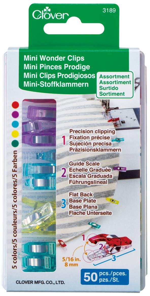 Clover Mini Wonder Clips (50 pcs. Assorted Colors) Sell Yours-New? Menu Camel Keepa AMZ Calc Reviews Links Help Rank: 5,775 in Arts, Crafts & Sewing Top 0.10% MFN (12 Offers) FBA (2 Offe
