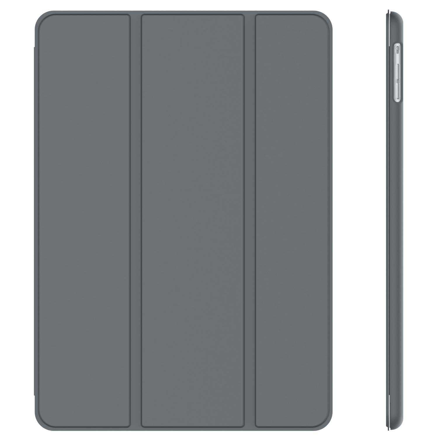 JETech Case for Apple iPad Air 1st Edition (NOT for iPad Air 2), Smart Cover with Auto Wake/Sleep, Dark Grey