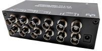 CCTV Camera Pros VDS-4008HD 4 to 8 BNC Video Splitter Box for AHD, HD-TVI, HDCVI, CVBS HD Analog Security Cameras   720p, 1080p, 3MP, 4MP, 5MP Resolution   RG59 / RG6U / RG6 Coaxial Cable Compliant