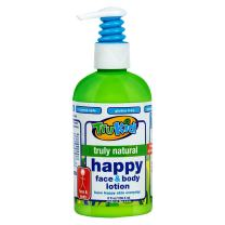 TruKid Happy Face and Body Moisturizing Lotion - Natural, Gentle Soothing, 8 oz