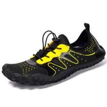 JACKSHIBO Swim Shoes for Women Men Water Sport Barefoot Hiking Shoes Quick Dry Aqua Socks Outdoor Beach Walking Boating Surfing
