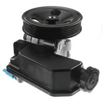 A-Premium Power Steering Pump with Reservoir & Pulley Compatible with Dodge Dakota 2005-2007 3.7L 4.7L