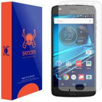 Skinomi Matte Screen Protector Compatible with Moto Z2 Play Anti-Glare Matte Skin TPU Anti-Bubble Film