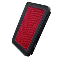 Upgr8 U8701-3701 Hd PRO OEM Replacement High Performance Dry Drop-in Panel Air Filter (Red) (Excluding 2000-2004 Subaru Outback 2.5L H4 Engine)