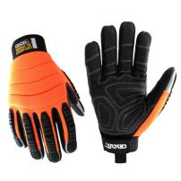 Cestus Pro Series HM Impact Glove, Work, Cut Resistant, 2X-Large, Orange (Pack of 1 Pair)