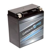 Rechargeable YTX20CH-BS Chrome Pro High Performance Power Sports Battery - Replacement Jet Ski