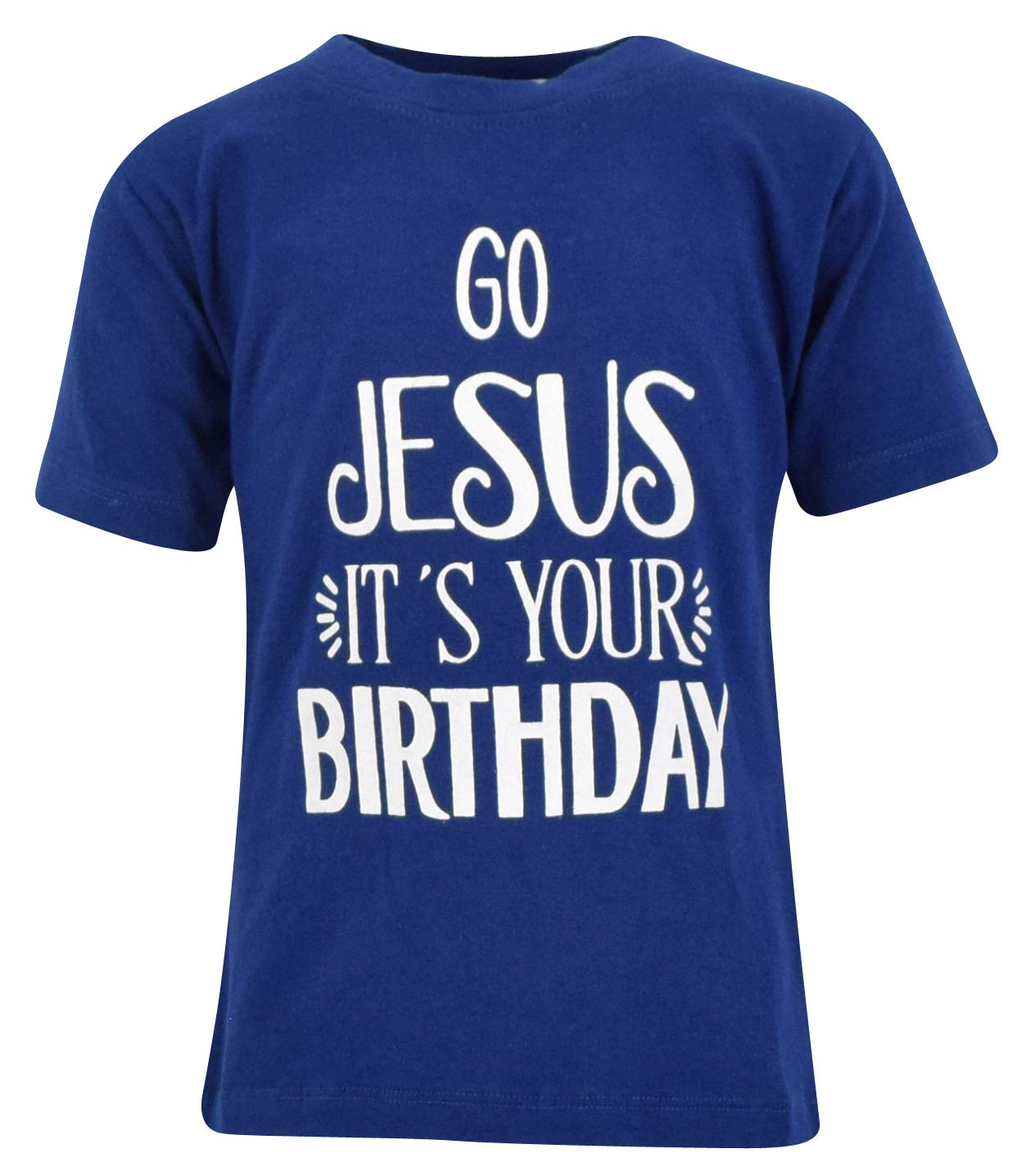 Unique Baby Boys Go Jesus It's Your Birthday Christmas Shirt