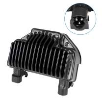 SCITOO Regulator Rectifier 74631-08 74631-08A Voltage Regulator Rectifier Fit for 2008 2009 2010 2011 2012 2013 2014 Harley-Davidson Dyna Powersports Alternator Rectifier