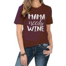 MNLYBABY Mama Shirts for Women Cute bee Graphic tee Shirt Funny Summer Womens Short Sleeve Tops Blouse