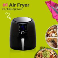 Simple Living Products SL-AFD2-5L Air Fryer, XL, Black