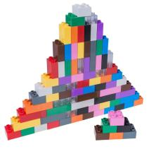 Strictly Briks - Big Briks Set - 84 Pieces - 12 Rainbow Colors - Compatible with All Major Brands - Large Building Blocks for Ages 3 and Up