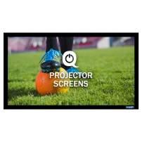QualGear 100-Inch Fixed Frame Projector Screen, 16: 9 4K HD Ultra White at 1.2 Gain (Qg-PS-Ff6-169-100-W)