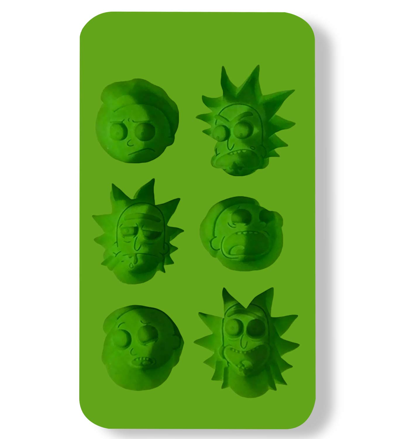 Rick and Morty Ice Cube Tray (BPA-Free) By Just Funky, By JustFunky