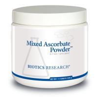 Biotics Research Mixed Ascorbate PowderTM - Powdered Formula, Easily mixes with Water or Juice. VIT C in Combination with Calcium and Magnesium Ascorbate, GI-Friendly, 2.8g/TSP Buffered VIT C, 11oz