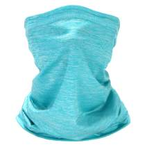 Cooling Neck Gaiter Face Mask Reusable for Men & Women,Breathable Windproof Cycling Hiking Fishing Face Mask Cool Bandana