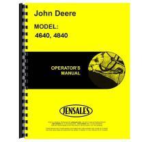 JD-O-OMR65463 New Operator's Manual Fits John Deere Tractor 4640