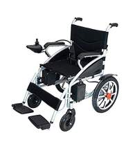 2020 Updated Electric Wheelchairs Silla de Ruedas Electrica para Adultos FDA Approved Transport Friendly Lightweight Folding Electric Wheelchair for Adults by Comfy Go (Blue)