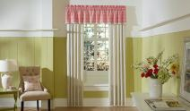 "MaryJane's Home Garden View Window Valance - 80 x 15"""