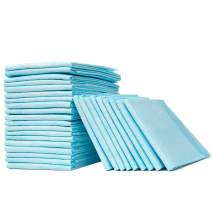"""Heavy Absorbency Disposable Underpad 18"""" x 30"""", Disposable Changing Pad for Baby or Pet(30/Pack)"""