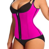 Waist Trainer Corset Tummy Control Shapewear Vest Adjustable Straps Body Slimmer