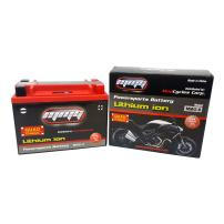 MMG 12V 420 CCA Lithium Ion Sealed Battery, Quad Terminals for Power Sports applications such as Motorcycles, ATVs, Personal Water Craft, Lawn Mowers, UTV, Scooters, and Dirt Bikes (MMG6)