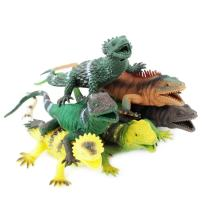 Boley 6 Pack Lizards - Perfect for Imaginative Play, Pretend Activities, Party Favors - Bright, Vibrant Colors!