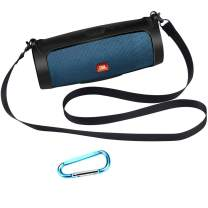 Esimen Silicone Case for JBL Charge 4 Bluetooth Speaker Cover with Shoulder Strap and Carabiner