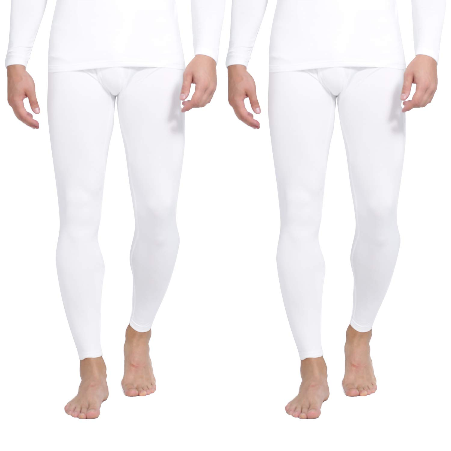 Yostylish Thermal Underwear for Men Ultra Soft Long Johns Set with Fleece Lined