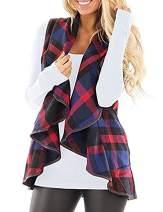 Yknktstc Women's Long Sleeve Knitted Cardigan Sweaters Outerwear Open Front Two Pockets