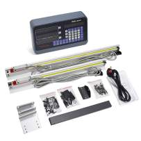 """14'' 28'' 2 Axis Digital Readout 5um 0.0002"""" Precision TTL Linear Scale DRO kit for Milling Lathe Machine 350mm+700mm, US Stock,2-4 Business Days"""
