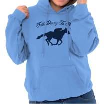 Talk Derby Me Kentucky Racing Jockey Funny Hoodie