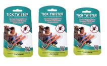 Tick Twister Tick Remover Set with Small and Large Tick Twister