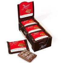Asher's Chocolate, Gourmet Chocolate Covered Graham Crackers, Small Batches of Kosher Chocolate, Family Owned Since 1892 (18 Count, Milk Chocolate)