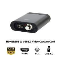 ORIVISION HDMI SDI Video Capture USB3.0 Capture Video Card for Windows, OS X (Mac) HD Loopout UVC Free Driver Video Capture Card